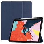 Trifold Sleep/Wake Smart Case for Apple iPad Pro 12.9-inch (3rd Gen) - Blue